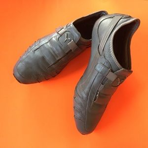 PUMA gray sneakers